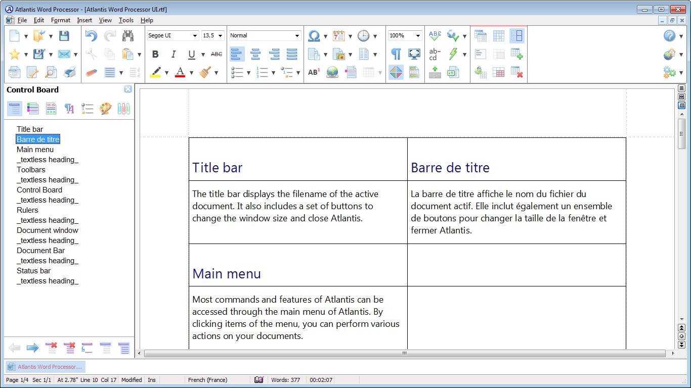 Resultado de imagen de Atlantis Word Processor