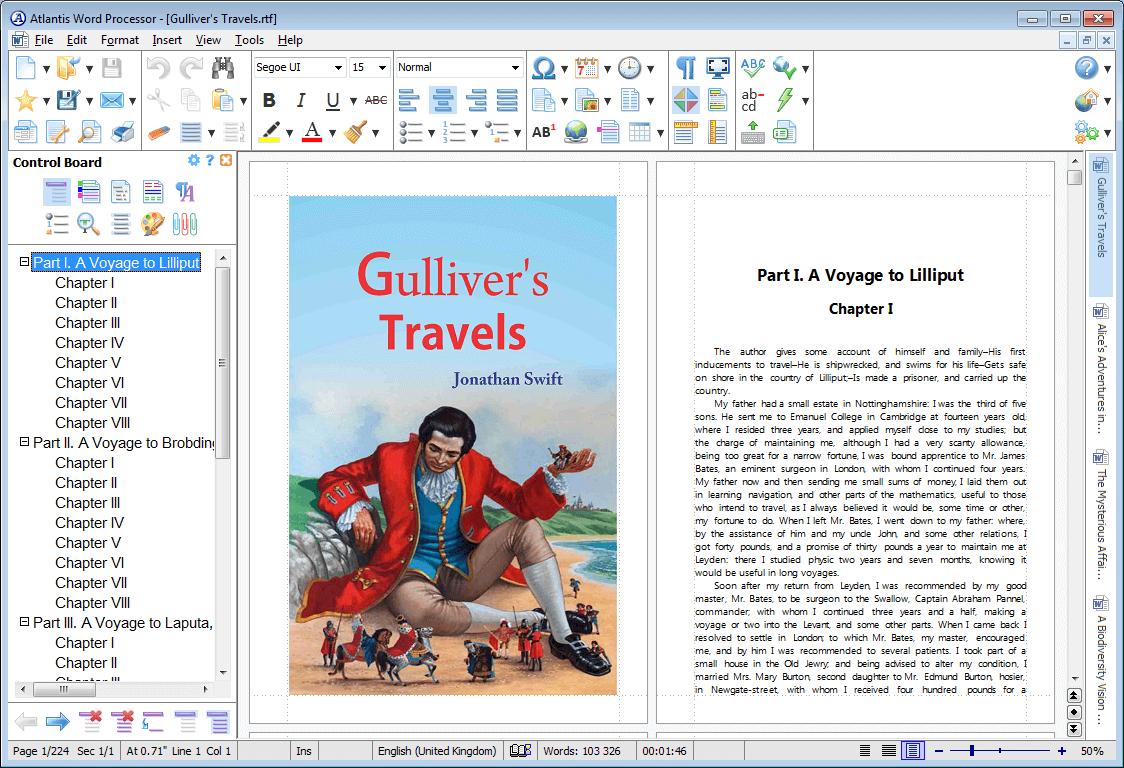 Portable Atlantis Word Processor 4.0.3 full